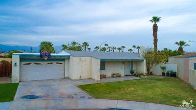 Indio Single Family Home Contingent: 81522 Rosemary Court