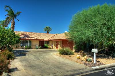 Indio Single Family Home Contingent: 82657 Bogart Drive