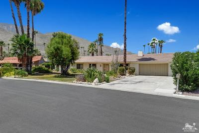 Palm Springs Single Family Home For Sale: 1160 E Anza Drive
