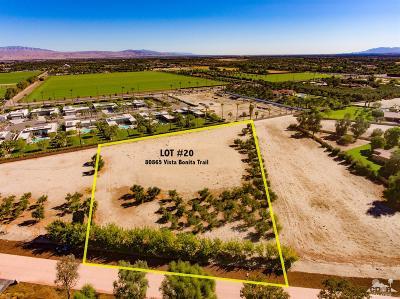 La Quinta Residential Lots & Land For Sale: 80865 Vista Bonita Trail
