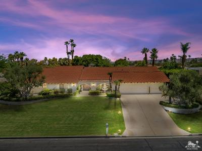 Rancho Mirage Single Family Home For Sale: 70800 Tamarisk Lane