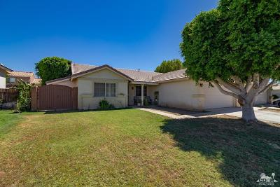 Indio Single Family Home For Sale: 80661 Sycamore Lane