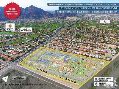 La Quinta Residential Lots & Land For Sale: Avenue 50