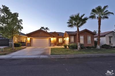 Indio Single Family Home For Sale: 82554 Hughes Drive