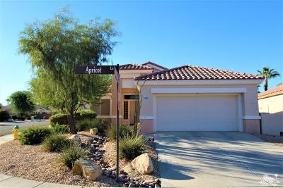 Palm Desert Single Family Home Contingent: 78968 Apricot Lane