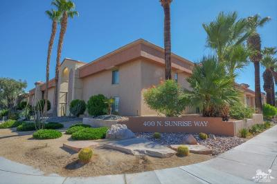 Palm Springs Condo/Townhouse For Sale: 400 N Sunrise Way #222