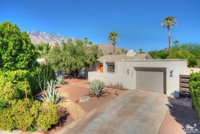 Palm Springs Single Family Home For Sale: 1330 E Padua Way