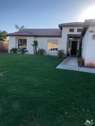 Indio Single Family Home For Sale: 48133 Calle Del Sol