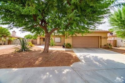 Indio Single Family Home For Sale: 43480 Reclinata Way