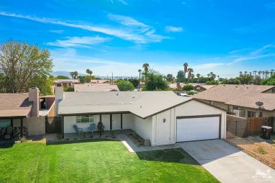 Indio Single Family Home Contingent: 45962 Duquesne Street