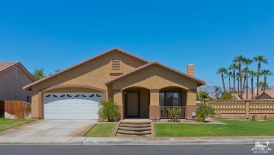 Indio Single Family Home Contingent: 81842 Tecoma Avenue