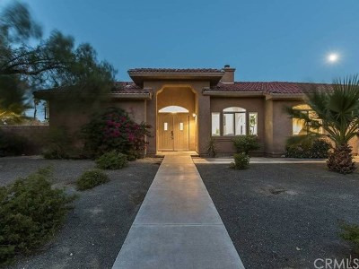 Palm Springs Single Family Home For Sale: 3048 North Bahada Road