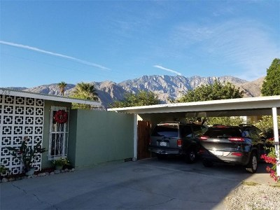 Palm Springs Single Family Home Contingent: 765 West Rosa Parks Road