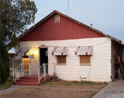 Blythe Single Family Home For Sale: 420 North 3rd Street