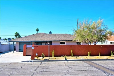 Palm Springs Single Family Home For Sale: 3763 East Calle San Antonio