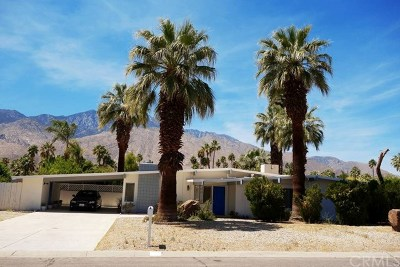 Palm Springs Single Family Home Contingent: 679 South Beverly Drive