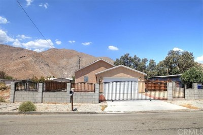 Palm Springs CA Single Family Home For Sale: $199,900