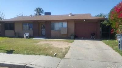 Blythe Single Family Home For Sale: 373 N Carlton Avenue
