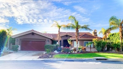 Rancho Mirage Single Family Home For Sale: 118 Clearwater Way