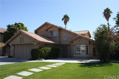 Indio Single Family Home For Sale: 81331 Thistle Way