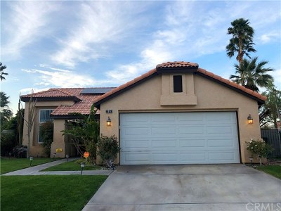 Cathedral City Single Family Home For Sale: 69628 Stafford Place