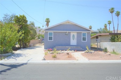 Cathedral City Single Family Home For Sale: 68677 E Street