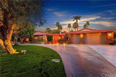 Rancho Mirage Single Family Home For Sale: 72128 Palm Crest Drive