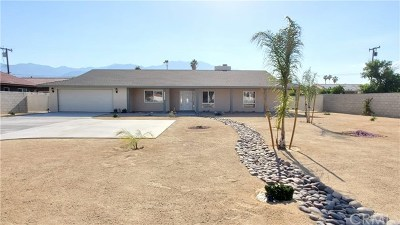 Cathedral City Single Family Home For Sale: 32323 Cathedral Canyon Drive