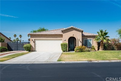 Indio Single Family Home For Sale: 83053 Greenbrier Drive