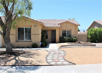 Indio Single Family Home Contingent: 83445 Albion Drive