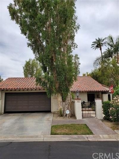 Rancho Mirage Condo/Townhouse For Sale: 43 Calle Lista