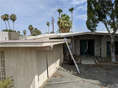 Palm Desert Single Family Home Contingent: 73308 Salt Cedar Street