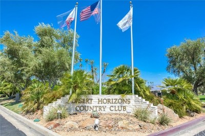 Indian Wells Condo/Townhouse For Sale: 44812 Del Dios Circle
