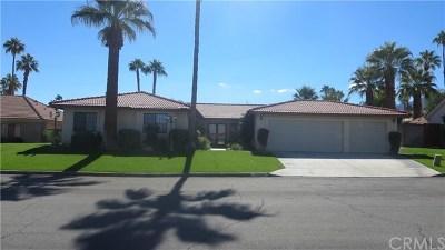 Palm Desert Single Family Home For Sale: 72935 Amber Street