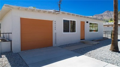 Cathedral City Single Family Home For Sale: 68195 Terrace Road