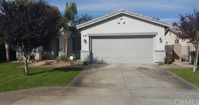 Indio Single Family Home For Sale: 80738 Diamondback