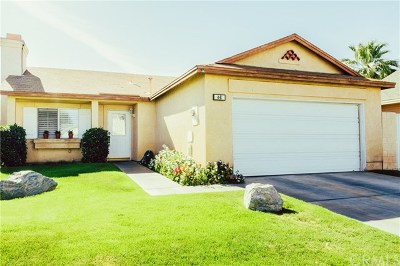 Indio Single Family Home For Sale: 47800 Madison St. #64