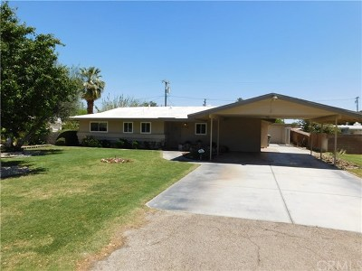 Indio Single Family Home For Sale: 45300 Ash Street