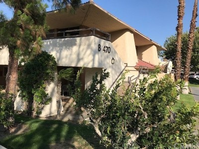 Palm Springs CA Condo/Townhouse For Sale: $85,900