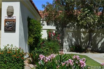 La Quinta Condo/Townhouse For Sale: 55526 Riviera