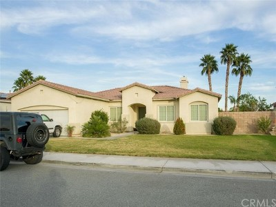Indio Single Family Home For Sale: 43336 Freesia Place