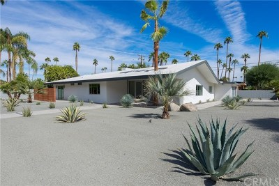 Palm Springs Single Family Home For Sale: 1166 South Sagebrush Road