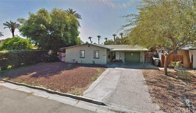 Indio Single Family Home For Sale: 82077 Tahquitz Avenue
