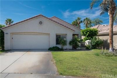 Indio Single Family Home For Sale: 80427 Portobello Drive