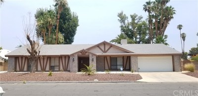 Cathedral City, Palm Springs Rental For Rent: 2284 South Pebble Beach Drive