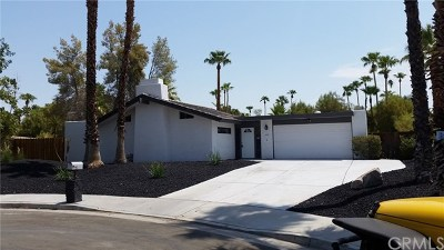 Palm Springs Single Family Home For Sale: 564 North Cantera Circle