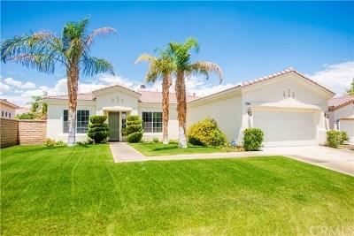 La Quinta Single Family Home Contingent: 79950 Barcelona Drive