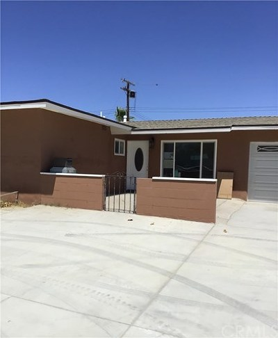 Indio Single Family Home For Sale: 81118 Miles Avenue