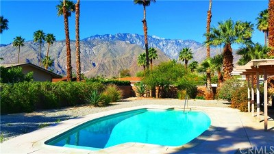 Palm Springs Single Family Home Contingent: 1291 East Delgado Road