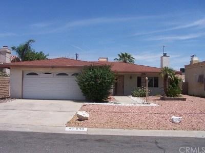 Palm Desert Single Family Home For Sale: 43540 Texas Avenue